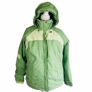 Columbia 3 In 1 Jacket Fleece Windbreaker Size XL